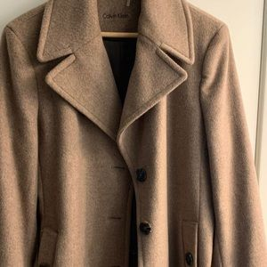 Like New!! Calvin Klein Wool Coat!! Must sell!